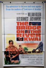 Bridge on the River Kwai Film Poster - US One Sheet